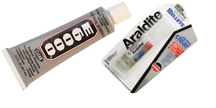 E6000 V Araldite Ultra Clear