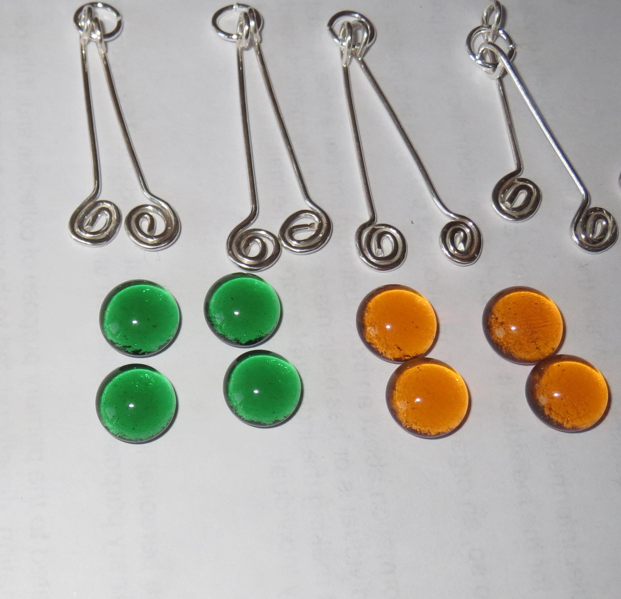 Making Spiral Wire Drop Earrings – Copper Versus Sterling Silver ...