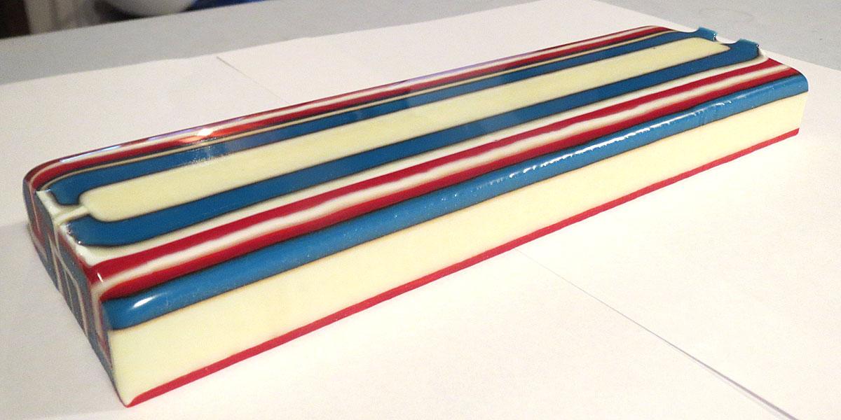 Fused Glass Pattern Bar