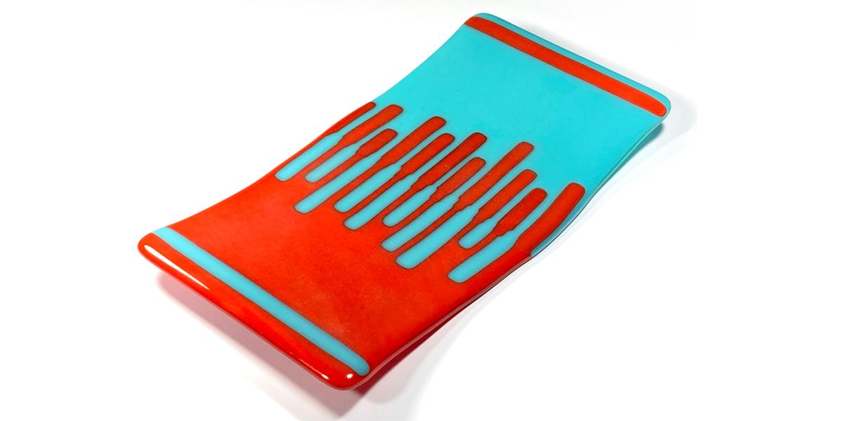 Glass Reaction Platter